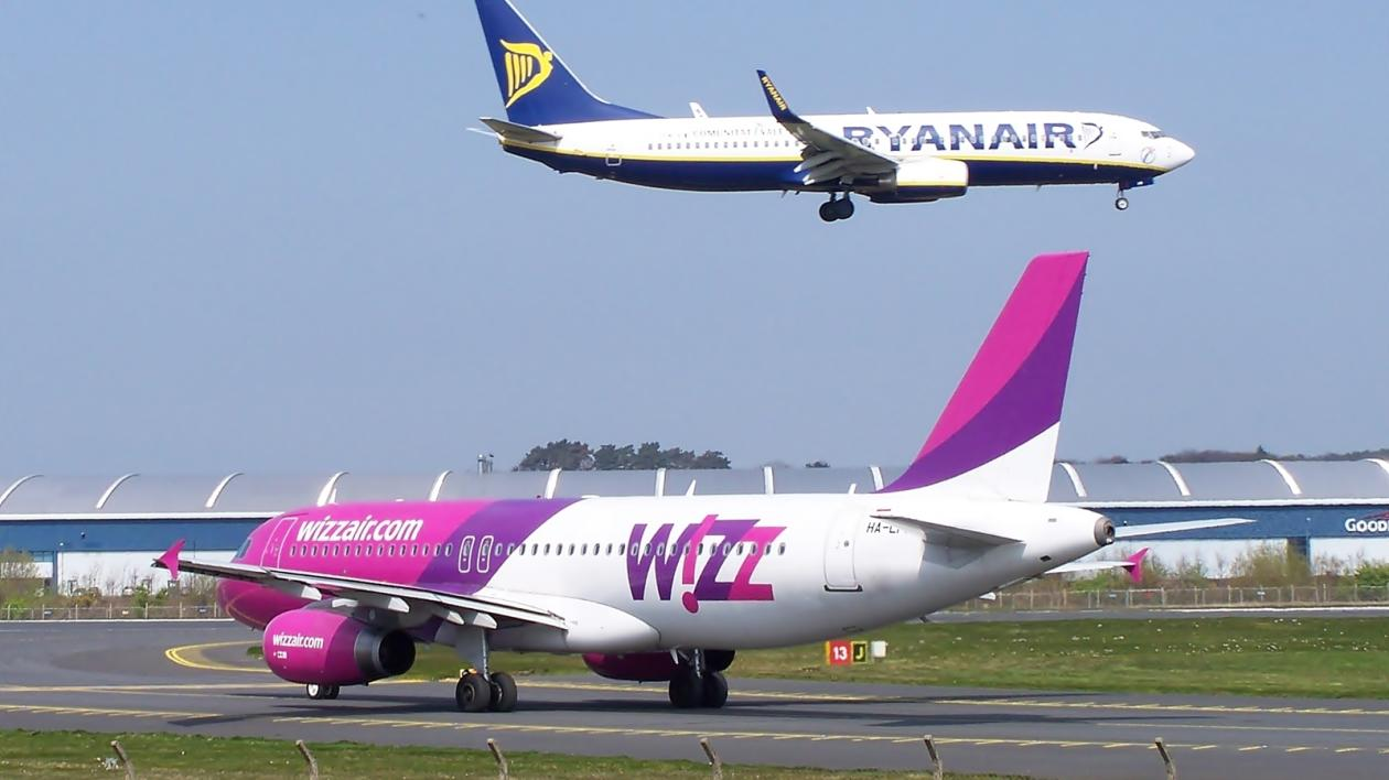 """ryanair and wizz air"""